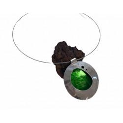 Collar verde Anastasia