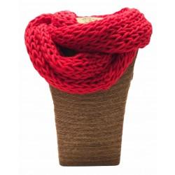 Cuello-braga lana+acrílico