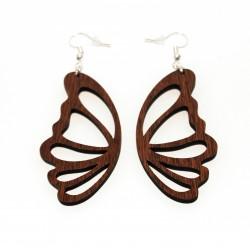Pendientes alas de mariposa...