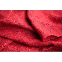 Chal tejido a telar de bambú