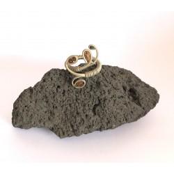 Anillo de cactus, piedra y...